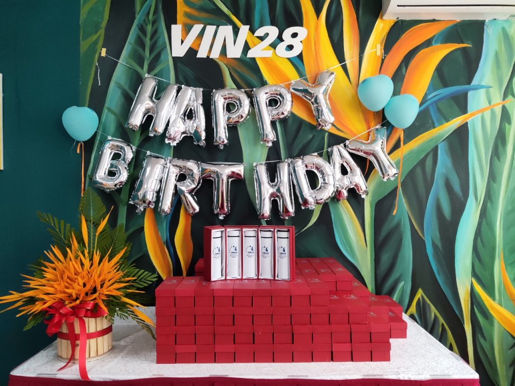 quà tặng sinh nhật công ty
